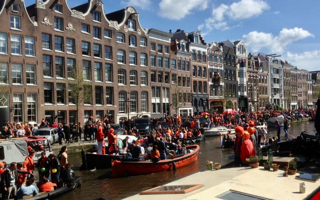Things to do in Amsterdam in April – King´s Day